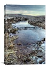 Frosty Morning, North York Moors, Canvas Print