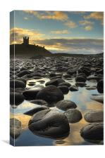 Dunstanburgh Castle, Northumberland, Canvas Print