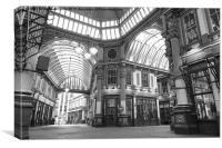 Leadenhall Market, London, Canvas Print