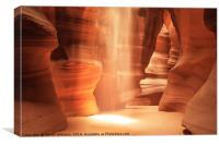 Inner Glow - Antelope Canyon, Canvas Print