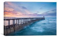 Whitby Galore, Canvas Print