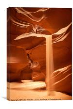 Sands of Time, Upper Antelope Canyon, Page, Arizon, Canvas Print