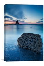 Rock of Times, Saltwick Bay, Canvas Print