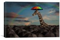 Stand Out From the Crowd, Canvas Print