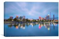 Birmingham, Alabama Skyline, Canvas Print
