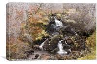 Alt Essan Waterfall, Canvas Print