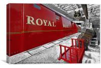Yesterdays Railway, Canvas Print