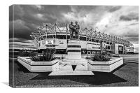Pride Park Stadium, Canvas Print