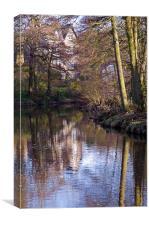Egton Bridge, Canvas Print