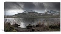 January on Loweswater, Canvas Print