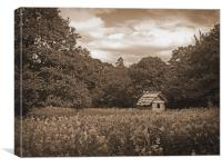 The House in the Woods, Canvas Print