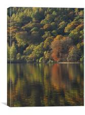Autumnal Reflections, Canvas Print