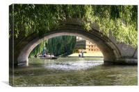 Cambridge Dream, Canvas Print
