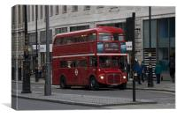 London Transport Routemaster Bus, Canvas Print