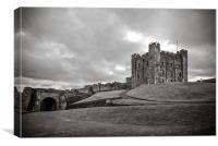 Bamburgh Castle, Canvas Print