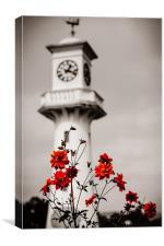 Roath Park Lighthouse, Canvas Print