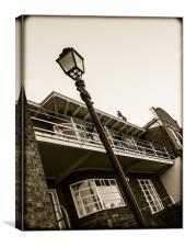 Art Deco House, Canvas Print