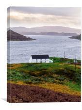 Isle of Skye Cottage, Canvas Print