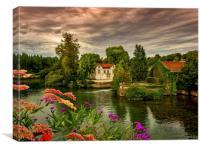 River Charente, Canvas Print