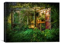 The Olde Potting Shed, Canvas Print