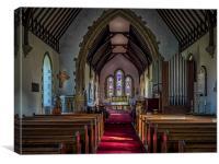 St Thomas Church, St Dogmaels, Canvas Print