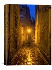 Bath Streets, Canvas Print