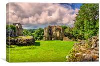 Narberth Castle, Canvas Print