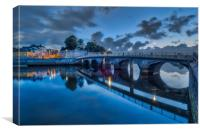 Cardigan Bridge, Canvas Print
