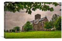 St Andrew, Narberth, Canvas Print