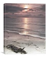 Saundersfoot Beach Sunrise, Canvas Print