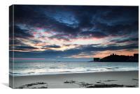 Tenby at dawn, Canvas Print