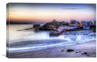 Tenby Harbour, Canvas Print