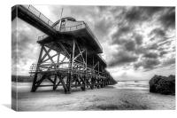 Old Lifeboat House, Tenby, Canvas Print