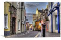 Upper Frog Street, Tenby, Canvas Print