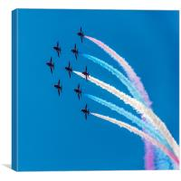 Red Arrows Coloured Roll