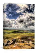 Preseli Hills, Pembrokeshire, Canvas Print