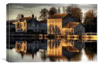 Carew Tidal Mill, Canvas Print