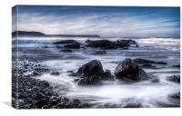 Early Morning Freshwater West, Canvas Print