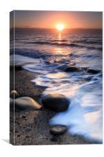Coppet Hall Beach Sunrise, Canvas Print