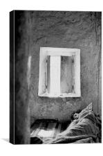 Omar's Window Morocco, Canvas Print