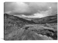 Bridge in Peak District, Canvas Print