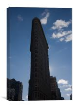 Flatiron building, New York City, Canvas Print