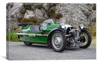 1. Morgan three wheeler, Canvas Print