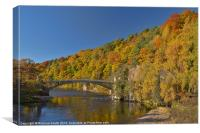The disused Craigellachie Bridge, Canvas Print