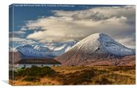 Beinn na Caillich from Breakish, Canvas Print