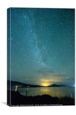 Milky Way, Canvas Print