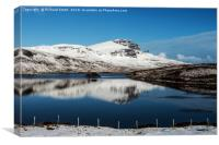 The Storr in winter #3 , Canvas Print