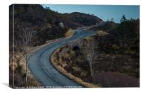 The road to Kylerhea #2 , Canvas Print