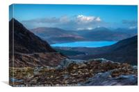 The road to Kylerhea #3 , Canvas Print