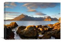 The Cuillin from Elgol #2, Canvas Print